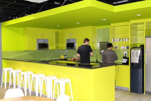 Purplechilli interiors - CSG green kitchen