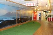 Office Interior design - putting green